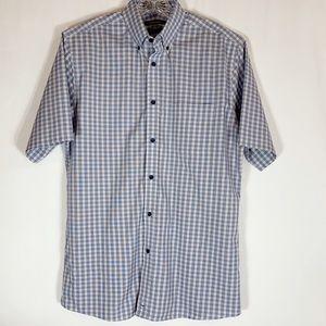 🌼Nordstrom Men Short Sleeve Shirt Traditional Fit